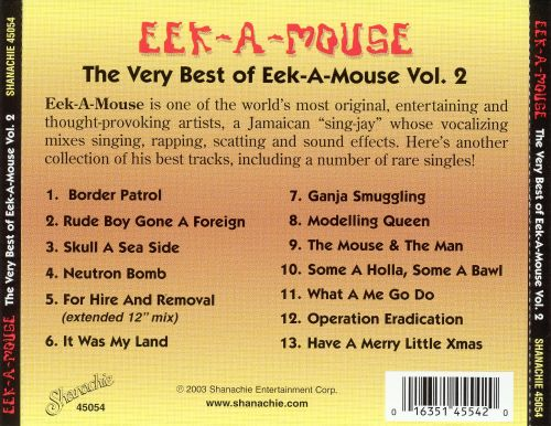 The Very Best of Eek-A-Mouse, Vol. 2