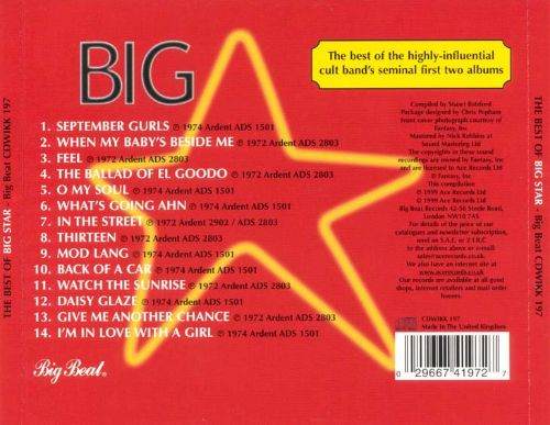 The Best of Big Star [Ace]