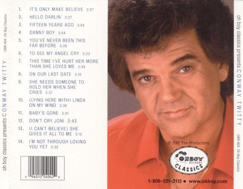 Oh Boy Classics Presents Conway Twitty