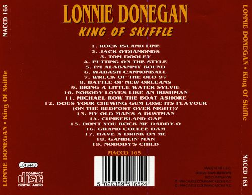 King of Skiffle [Castle 2000]