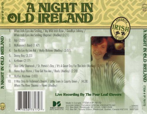 A Night in Old Ireland