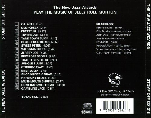 Play the Music of Jelly Roll Morton