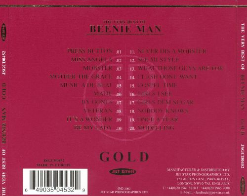 The Very Best of Beenie Man: Gold