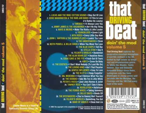 Doin' the Mod, Vol. 5: That Driving Beat