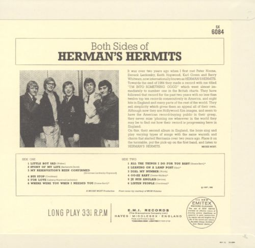 Both Sides of Herman's Hermits