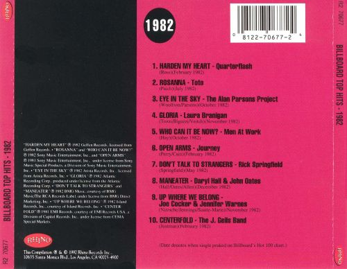 Top Of The Pops 1982 - BBC4 - Page 525 — Digital Spy