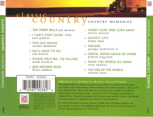 Classic Country: Country Memories