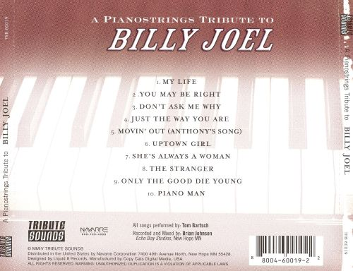 A Pianostrings Tribute to Billy Joel
