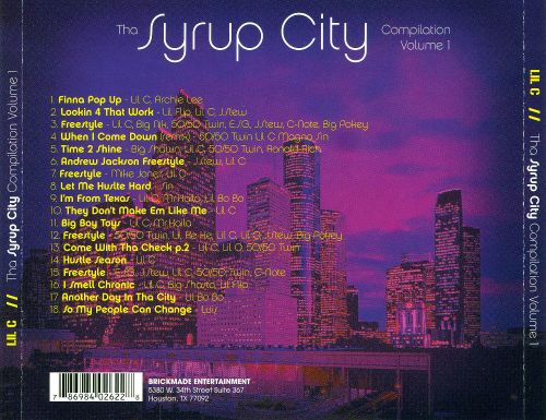 Syrup City: Underground, Vol.1