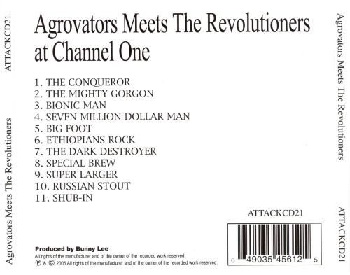 Aggrovators Meets the Revolutioners at Channel 1 Studios