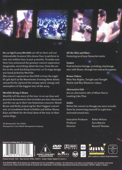 The Greatest Hits Tour: Live from M.E.N. Arena
