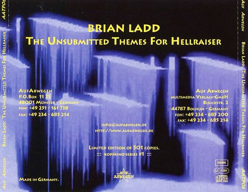The Unsubmitted Themes for Hellraiser