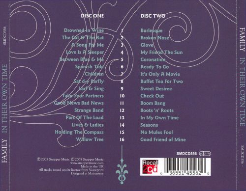 In Their Own Time Family Songs Reviews Credits Allmusic