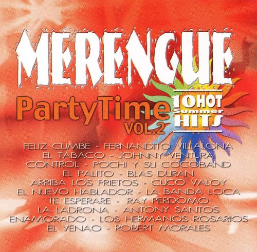 Merengue Party Time, Vol. 2