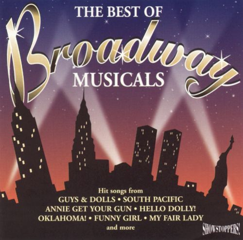 The Best Of Broadway Musicals Showtime Various Artists border=