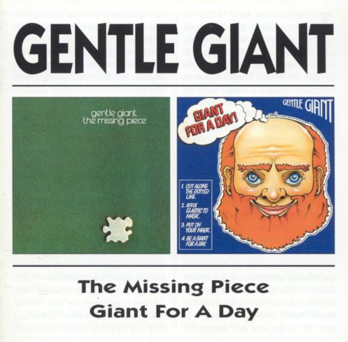 The Missing Piece/Giant for a Day!