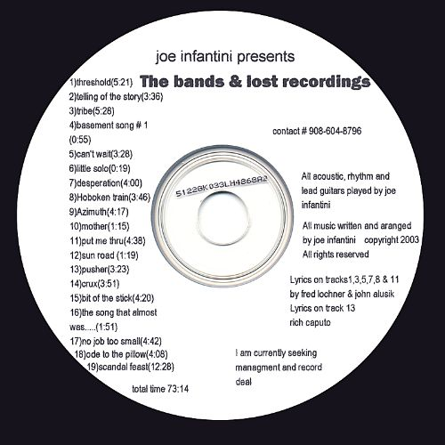 The Bands and Lost Recordings