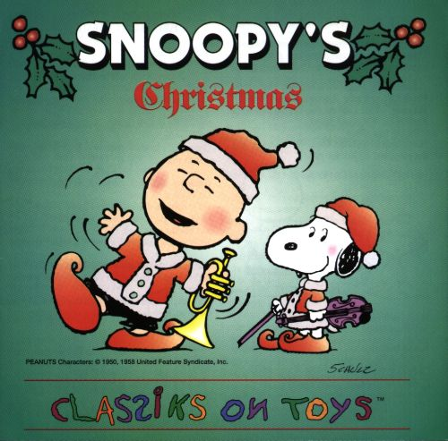 Snoopys Christmas.Snoopy S Classiks On Toys Christmas Snoopy Releases