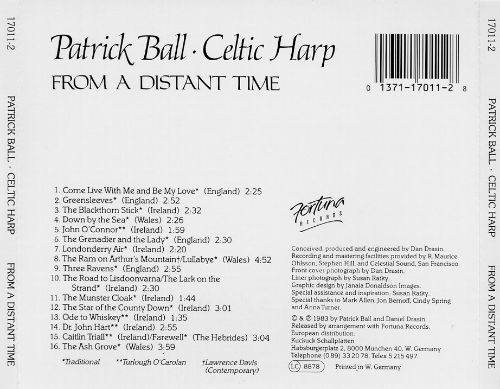 Celtic Harp 2: from a Distant Time