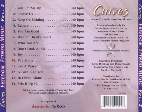 Curves Freedom Fitness Music, Vol. 2