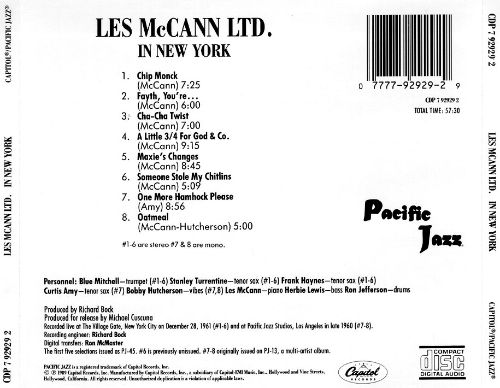 Les McCann Ltd. In New York