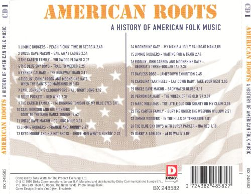 American Roots: A History of American Folk Music [Disc 1]