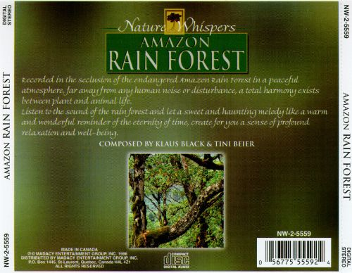 Nature Whispers: Amazon Rainforest