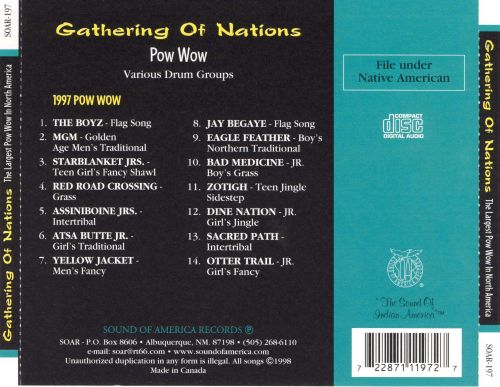 Gathering of Nations Pow Wow 1998