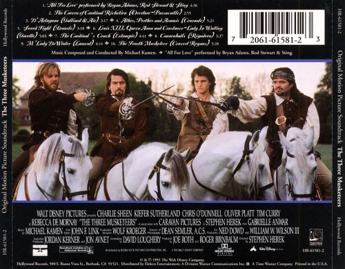 The Three Musketeers 1993