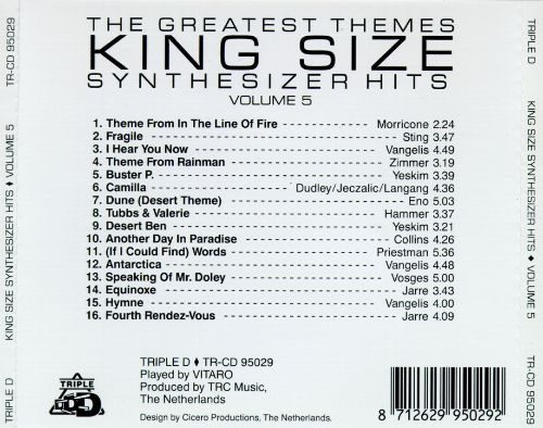 King Size Synthesizer Hits, Vol. 5