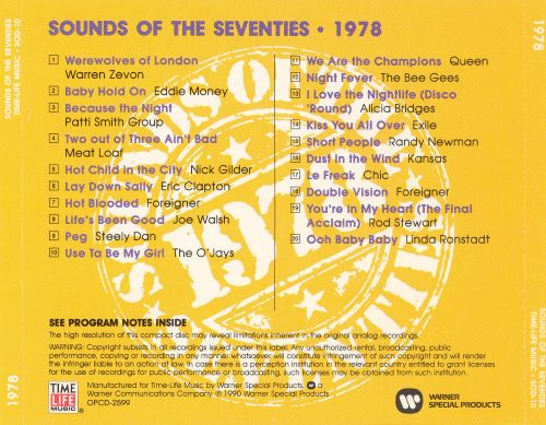 Image result for sounds of the 70s 1978