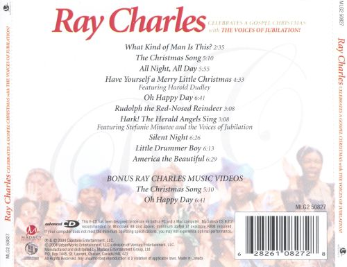 Ray Charles Celebrates a Gospel Christmas