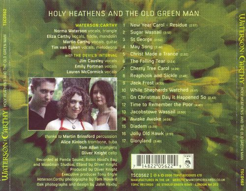 Holy Heathens and the Old Green Man