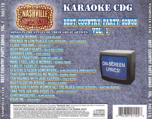 Nashville Star Best Country Party Songs, Vol. 1