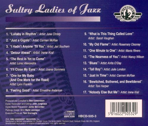 Sultry Ladies of Jazz, Vol. 3