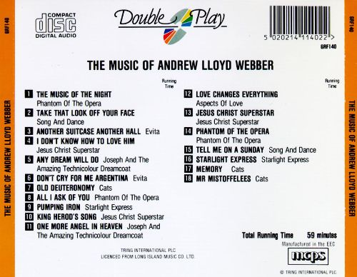 The Music of Andrew Lloyd Webber [GRF]