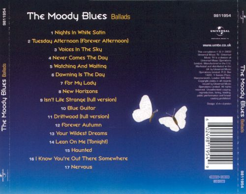 Ballads - The Moody Blues | Songs, Reviews, Credits | AllMusic