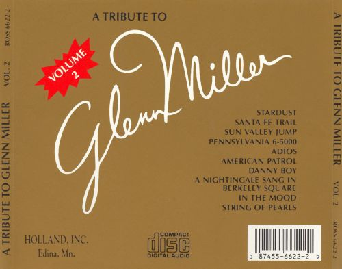 A Tribute to Glenn Miller, Vol. 2