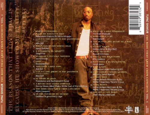 2pac the rose that grew from concrete album