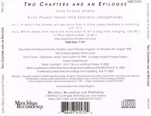 Two Chapters and an Epilogue