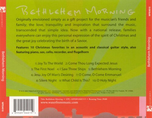 Bethlehem Morning: Acoustic Interpretations of Timeless Holiday Classics