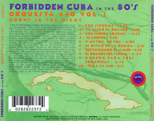 Forbidden Cuba in the 80's: Horns in the Night