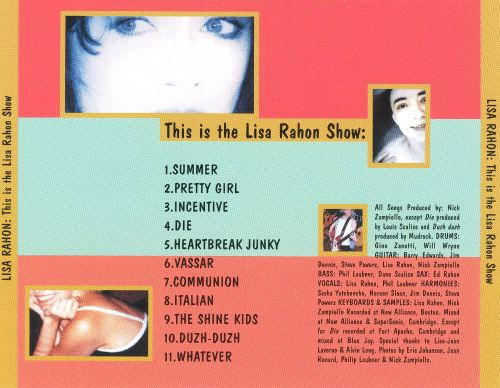 This Is the Lisa Rahon Show