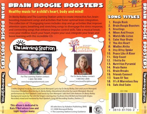 The Learning Station: Brain Boogie Boosters