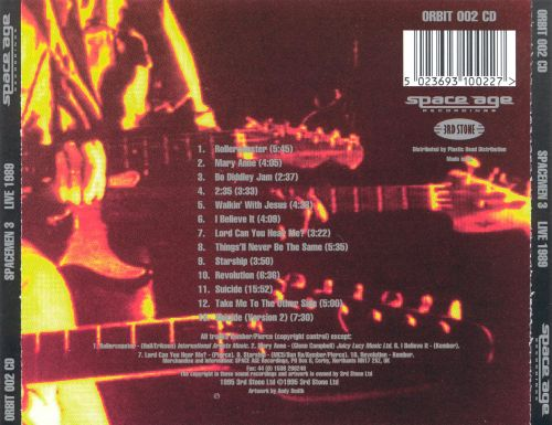 Live in Europe 1989