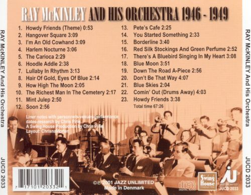 Ray McKinley and His Orchestra (1946-1949)