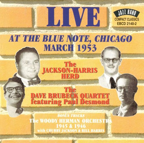 Image result for dave brubeck blue note chicago 1953
