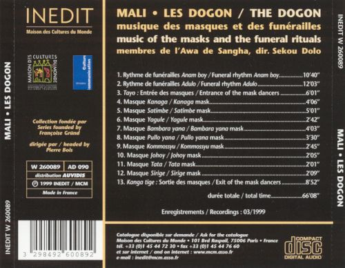 Dogon Music of the Masks & The Funeral Rituals