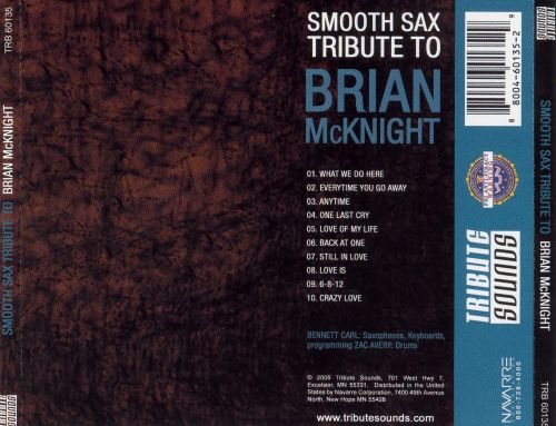 Smooth Sax Tribute to Brian McKnight