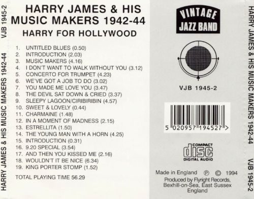 Harry for Hollywood